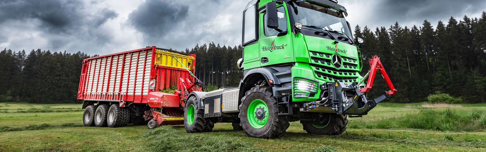 Heizotruck Forestry
