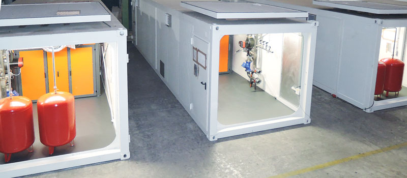 Heizomat container system /